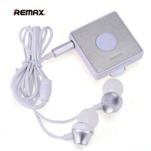 Original Remax RB-S3 Sports Lavalier Clip on Bluetooth Headset Wireless Stereo Earphone Bluetooth FM Radio For Bluetooth device