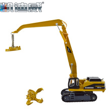 Toy kids Material handling vehicles crane truck 1:87 model KDW 620010 Car CAT simulation Forklifts Multi excavator gift alloy