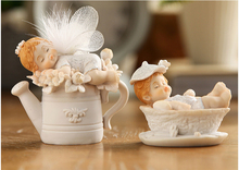 high quality exquisite angel resin fairy figurine for wedding gift desk decoration christmas gift home ornaments