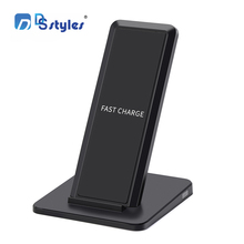 DSstyles A15 10W Vertical Wireless Charger for Samsung Galaxy S6 / S6 Edge / Note5 / S7 Edge cell phone Cargador Inalambrico