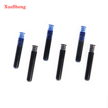 15 PCS Disposable Blue And Black Fountain Pen Ink Cartridge Refills Length Fountain Pen Ink Cartridge Refills