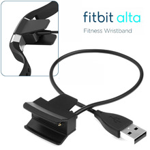 Popular Fitbit Alta USB Charger Charging Cable Lead USB Charger Charging Cable Cord For Fitbit Alta Activity and Sleep Tracker