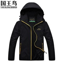 Spring and Autumn Men's Outdoor Jackets  Wind and waterproof travel Breathable camping hunting fishing Men's Outdoor clothes