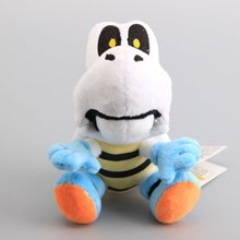 High Quality Super Mario Games Trumpet Skeleton Turtle Plush Toys Stuffed Animals Children Gift 17 CM(China)