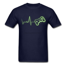 Short Family T Shirt Making Adult Shirts with Gamer Beat Men Printing T-Shirt Reasonable Price(China)