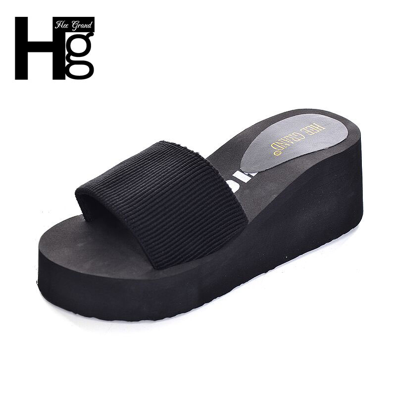 HEE GRAND Slippers Shoes Women Sandals 2017 New Korean Style Woman Shoe Size 36-40 XWT585<br><br>Aliexpress