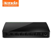 NEW Tenda SG108 Network 8 Port Gigabit Desktop Switch 10/100/1000Mbps Fast Ethernet Switcher Lan Hub Full/Half duplex Exchange(China)