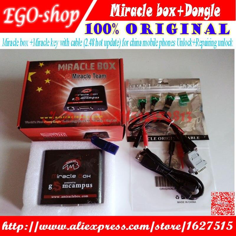 miracle box+dongle