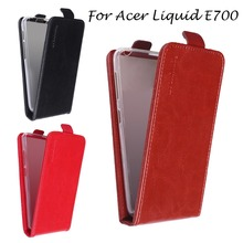Vertical Leather Phone Cases For Acer Liquid E700 Z520 Z630 Z 630 Z630S Z500 Leather Case Cover For Acer E700 Flip Cases Shell