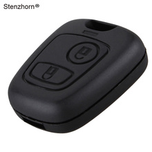 Stenzhorn 2Buttons Remote Key Case Shell Fob for Peugeot 106 206 306 406 Key Cover