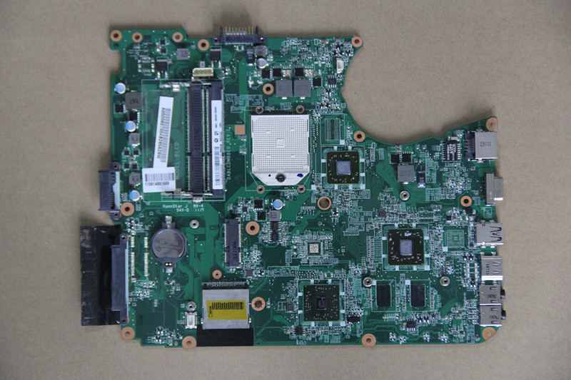A000080700 DABLCDMB8E0 for toshiba satellite L750D L755D laptop motherboard socket S1 with ATI DDR3(China (Mainland))