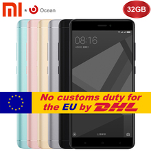 "Original Xiaomi Redmi Note 4X 4 X Mobile Phone Snapdragon 625 Octa Core 5.5"" FHD 3GB RAM 32GB ROM Fingerprint ID 13.0MP Camera"