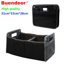 Big Car Trunk Box Storage Bag an organizer in the car Car Trunk Organizer Styling Luggage Folding Case Storage Interior Holders(China)