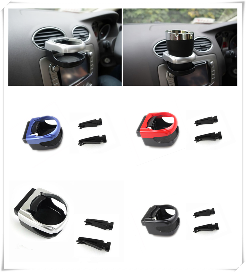 Car air conditioning vent drink stand water bottle cup holder bracket For Volvo S40 S60 S80 XC60 XC90 V40 V60 Any Cars