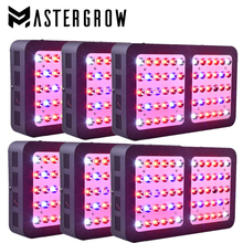 MasterGrow R600 6PCS/600w Full Spectrum LED Grow Light With 410-730nm 10W double chips For Indoor Plants Growing and Flowering(China)