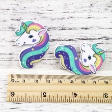David accessories Cartoon horse flat back planar resin diy decoration crafts accessories 10pieces,DIY handmade,10Yc3197(China)