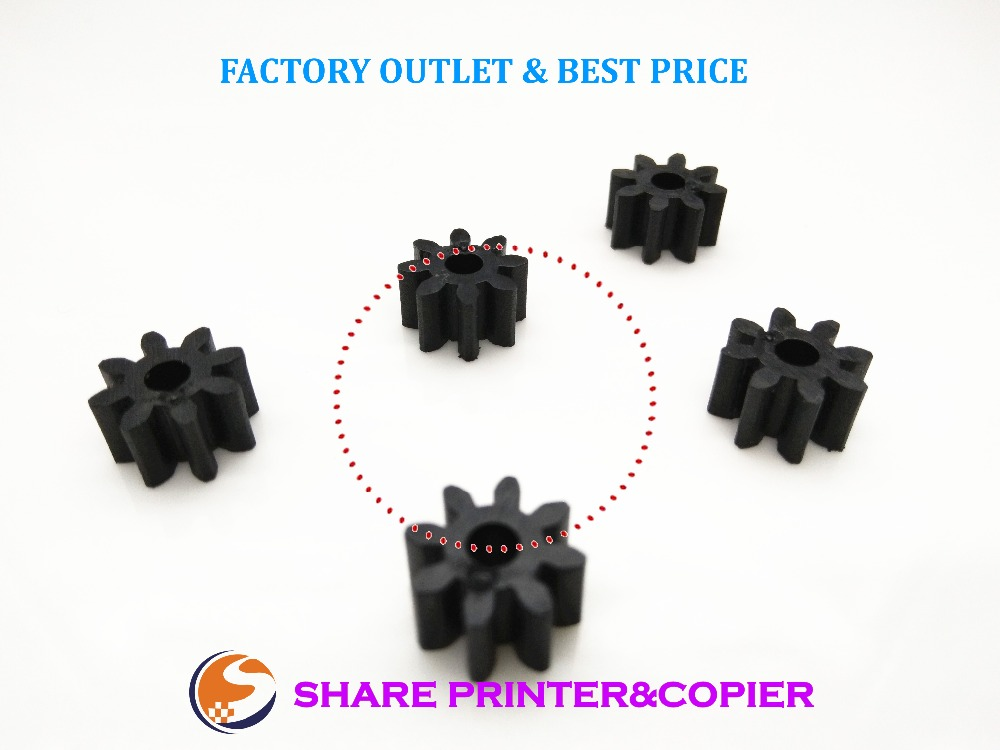 100ps New Feed Delivery Roller Gear 8T for HP 920 6000 6500 6500A 7000 7500 7500A B010 B010A B010b B109 B109a B109c B109q B110