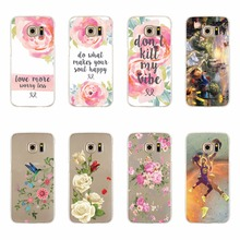Rose Flowers Cases For Samsung Galaxy S3 S4 S5 mini S6 S7 Edge Plus Note 3 4 5 Note5 A3 A5 J5 J7 A310 A510 J510 J710 2016 Covers