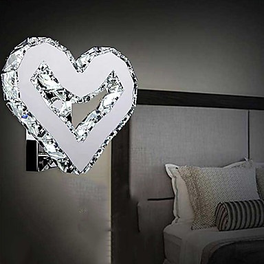LED 12W Wall Sconces K9 Crystal/Mini Style Modern/Contemporary Metal<br><br>Aliexpress