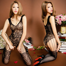 Buy Free Shipping Sexy Lingerie Women Erotic Lingerie Hot Sex Products Sexy Costumes Black Underwear Slips Intimates Dress Bodysocks
