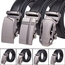 Buy New mens Brand designer belts luxury real leather belts Business metal buckle man Jeans pants genuine leather belt male strap for $4.54 in AliExpress store