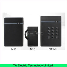 N10,N11,N11-K access control system card reader IP65 waterproof proximity card optional RFID card or IC card wiegand reader