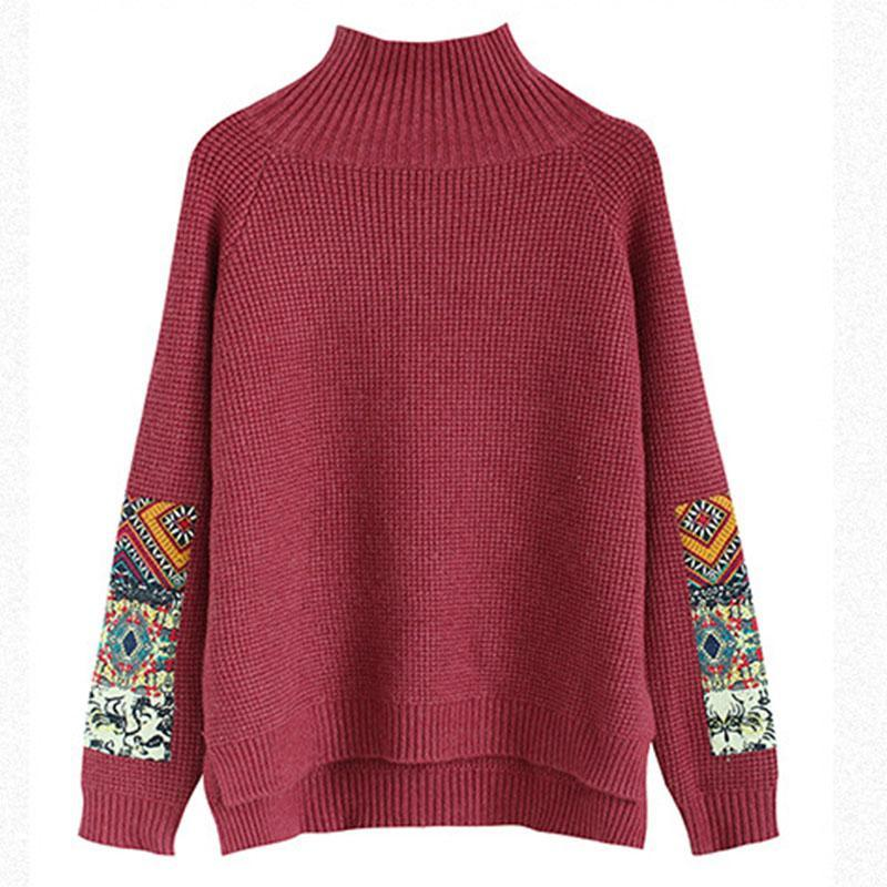 New_Half_Turtleneck_Long_Sleeve_Patchwork_Sweater_6_800x