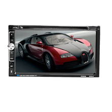 Car DVD CD Player 7 2 DIN Bluetooth Touch Screen Radio Audio USB iPod SD FM/AM(China)