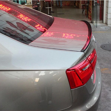 A6 Car Styling Carbon Fiber Rear Trunk Lip Spoiler Wing for Audi A6 2012-2015