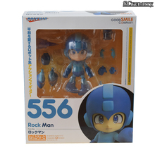 Rockman Mega Man Megaman Nendoroid 556 Action Figure Collectible Model Toy 10cm