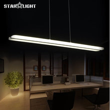 Newest Design Modern LED Pendant Lights for Dining Room White Acrylic LED Pendant Lamp Contemporary L100CM H150CM