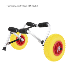 1pc 8/10 inch Kayak Trolley Cart Tire Puncture-proof Tire Wheel for Kayak Canoe Trolley Cart Replacement Tire Kayak Accessories(China)