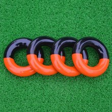 New Golf Swing Trainer Golf Club Weighted Ring Warm Up Power Training Tool Aid for Training Golf Accessories