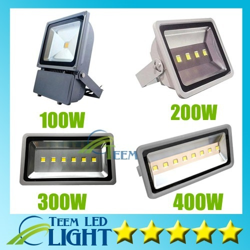 DHL IP65 Waterproof 100W 200W 300W 400W Led Floodlight Outdoor Project lighting Lamp LED Power Flood lights 85-265V Led light<br><br>Aliexpress