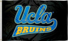 UCLA Bruins Flag Banner Black New 3x5ft 150x90cm Polyester Flag Banner 002, free shipping(China)