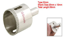 SODIAL(R) Glass Tile Hole Cutting Saw Drilling Tool w 32mm Diameter(China)
