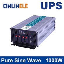 Universal inverter UPS+Charger 1000W Pure Sine Wave Inverter CLP1000A DC 12V 24V 48V to AC 110V 220V 1000W Surge Power 2000W