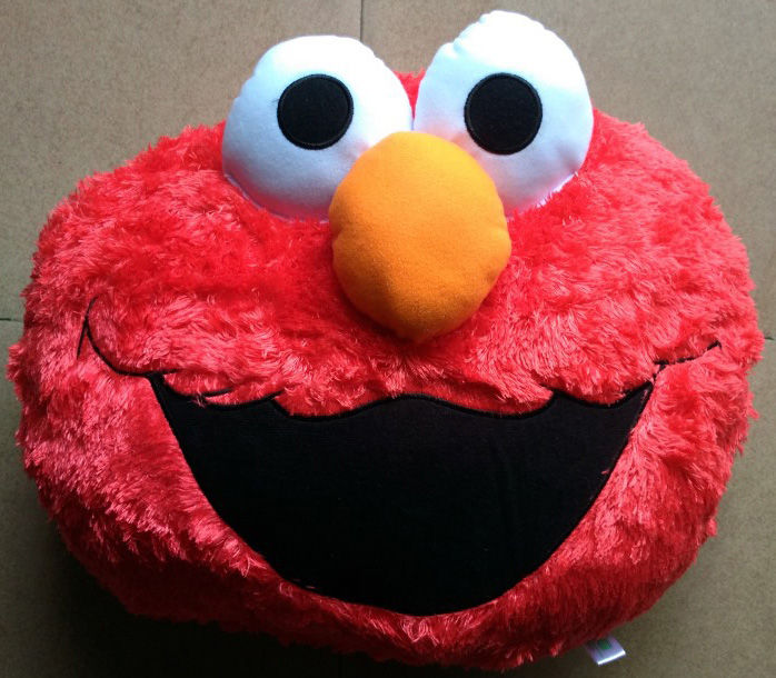 New Arrival Original Sesame Street Red Cushion Pillow Soft Plush Toy Doll Birthday Christmas Gift Car Home Decoration<br><br>Aliexpress
