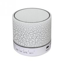 Bluetooth Stereo Speakers A9 Smart Colorful LED Light Crack Pattern Mini Wireless Bluetooth Speaker With USB/TF/FM/AUX