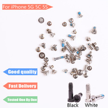 High Quality for iPhone 5G 5C 5S 6G 6 Plus 4S 4G Bottom Complete Screws Full Set Replacement Accessories
