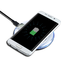 1PC Qi Wireless Charger Dock Charging Pad Mobile Phone Adapter Wirless Charge Cell for Samsung Galaxy S7 S6 edge Note 4 5