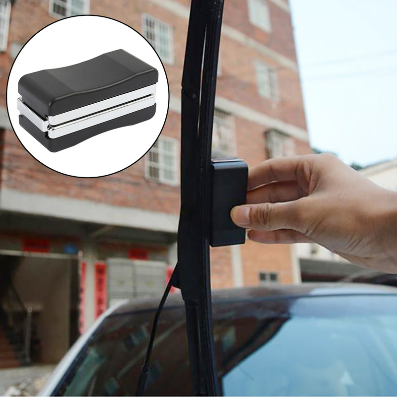 Universal Car Vehicle Windshield Wiper Blade Refurbish Repair Tool Black Auto Restorer Windscreen Windshield Scratch Repair Kit(China)