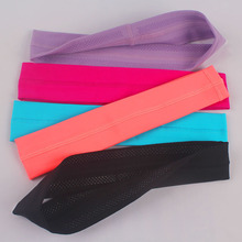 Free shipping Eshtanga yoga headbands with Silicone Women Sports Headbands Hair Accessories stretch quality 2 pcs per lot(China)