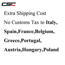 DPD XDB shipping no customs fees for carbon bike wheelset, Don't need pay cutoms tax