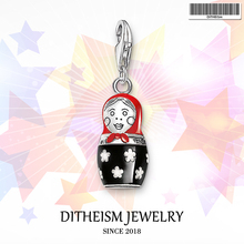 Buy Matryoshka Russian Doll Charms Pendant,2018 Jewelry 925 Sterling Silver Ethnic Gift Women Girls Fit Bracelet Necklace Bag for $6.51 in AliExpress store
