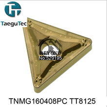 TNMG160408PC TT8125,Genuine Original  TaeguTec CNC insert use Large Medium Small mini lathe tools by turning tool holder