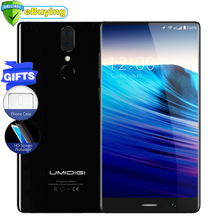 "UMIDIGI Crystal Android7.0 Smartphone MTK6750T Octa-core 4GB RAM 64GB ROM 5.5"" Bezel-less Display Fingerprint ID 4G Mobile Phone(China)"