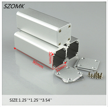 10pieces a lot  aluminum case power supply Project Box Aluminum Electronic Enclosure  32x32x90mm