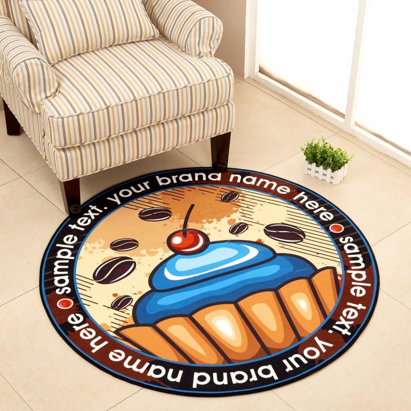Simple Style Round Carpet Kids Rug For Bedroom Bedside Rug Tapeta - Modern-white-interior-house-in-kharkov-by-vladimir-latkin
