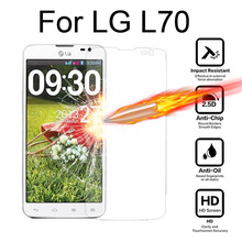 Tempered Glass For LG L70 Dual SIM D325 Screen Protector cover For LG L 70 9H Protective Guard Film Glass case